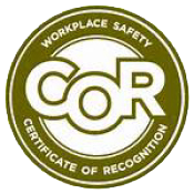 Member of the Workplace Safety Certificate Of Recognition